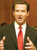 Mayor Gavin Newsom