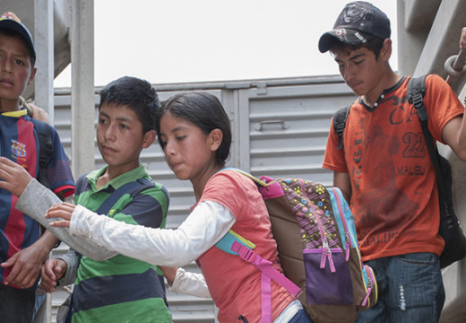 Central American ministers anaylize child emigration to the U.S.