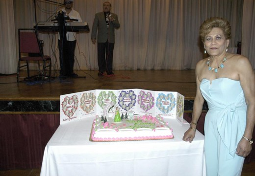 Congratulations to Mila Turcios in her 70th