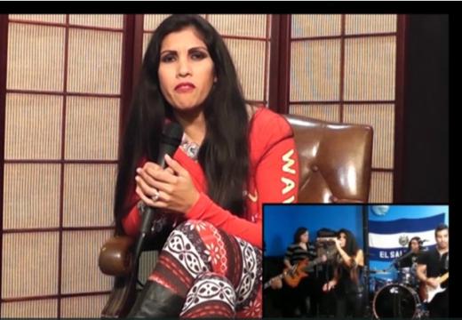 La Jefa & Ayahuasca Band interviews with El Reportero TV