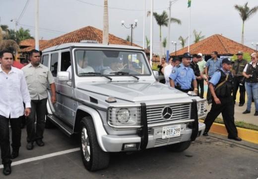 Daniel Ortega buys new car for $278,000