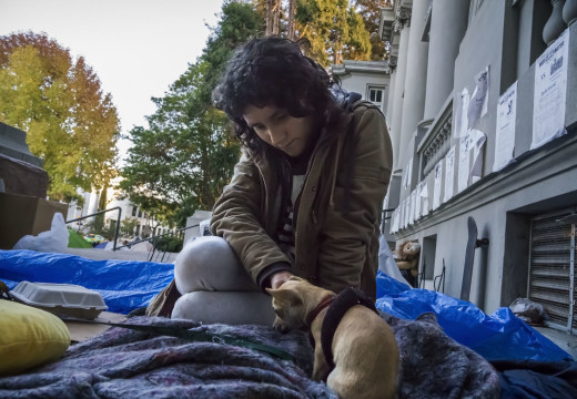 City clears out homeless encampment