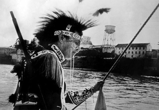 Taking Alcatraz by Native Americans