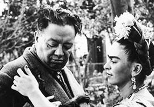 Exhibition in Mexico portrays Diego and Frida's intimate lives