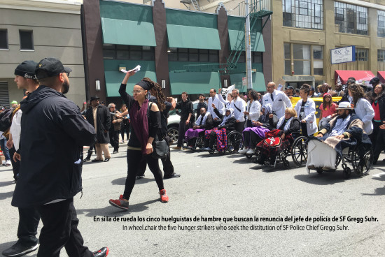 San Francisco Mayor Ed Lee ignores calls for meeting with hunger strikers #frisco5