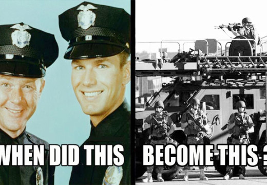 Teaching violence – how US police went from Mayberry to madness