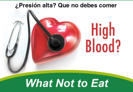 Principales alimentos para la presión arterial alta