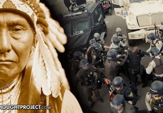 """Actor dice: La policía son """"matones"""" protegidos por los medios corporativos"""