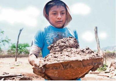 Niños en trabajo: hay 3.6. millones de México