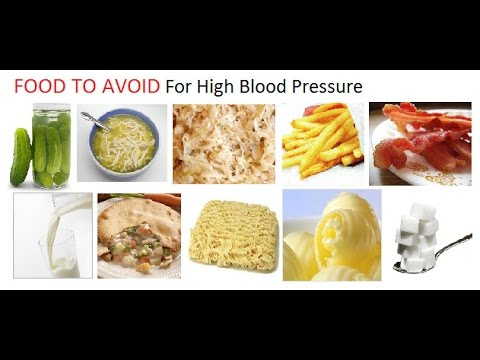 Top foods to avoid with high blood pressure
