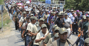 Guerrero ejidos create self-defense force