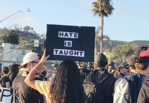 Anti-immigrant rally in Laguna Beach ends in violence