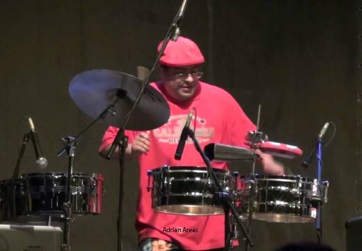 20 Aniversario de Caravanserai con Patrón y el percusionista – hijo de Chepito Areas – Adrián Areas