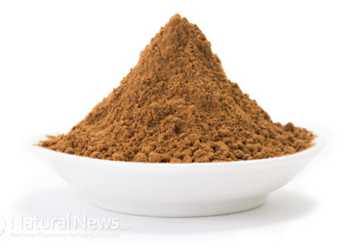 Carob flour has healing benefits, it's a natural medicine