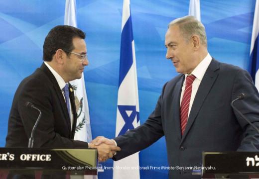 Los lazos israelíes de Guatemala impulsan la decisión de trasladar Embajada a Jerusalem