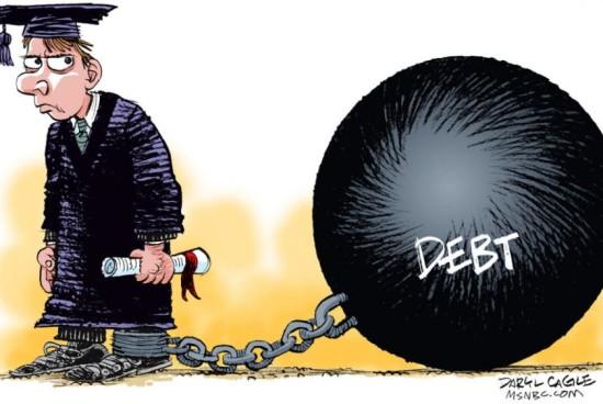 La esclavitud de la deuda estudiantil: financiar a los financista a lomos de los jóvenes