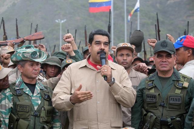 Venezuelan President orders military exercises before an alleged coup d´état or a foreign invasion