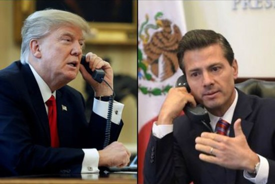 Mexico-US relations 'frozen' after testy call