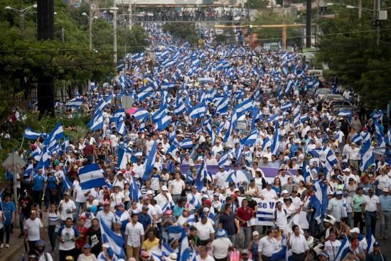 "The scream in the streets of Nicaragua: ""Go Ortega!"""