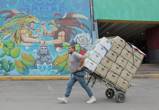 Mexico City market mural project enters second stage