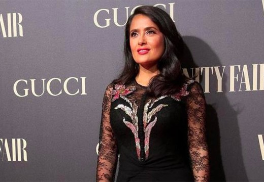 Vanity Fair magazine recognizes Salma Hayek