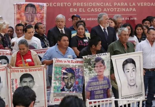 AMLO creates super-commission to investigate missing 43 of Ayotzinapa