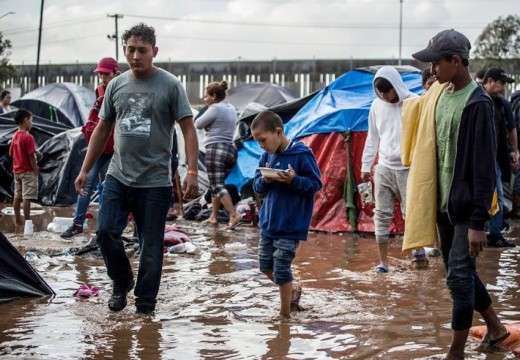 Tijuana migrant numbers down by 3,000