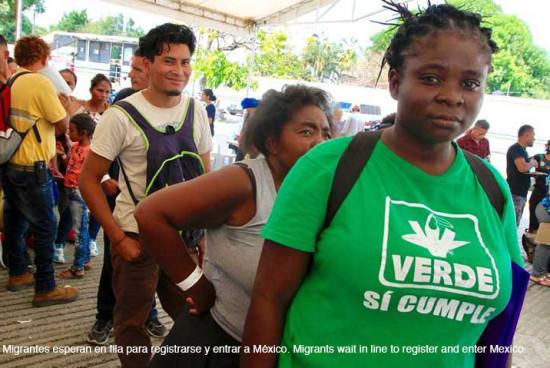 Programa 'super exitoso' registra a 10,000 migrantes en seis días: Inmigración