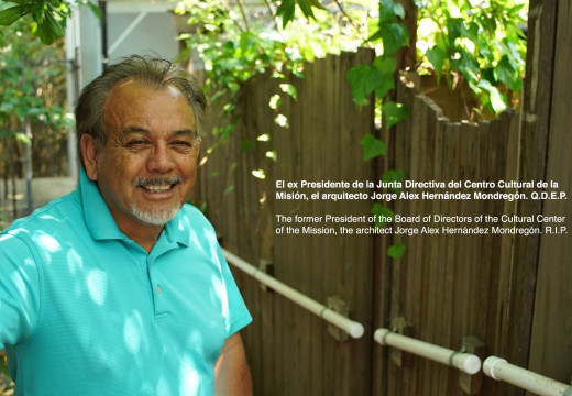 Hispanic architect, former president of the 24th Street Merchants Association and the Cultural Center of the Mission, dies