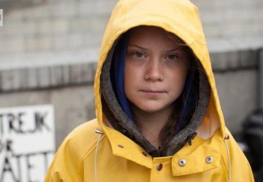 Climate change activist Sweden's Greta Thunberg