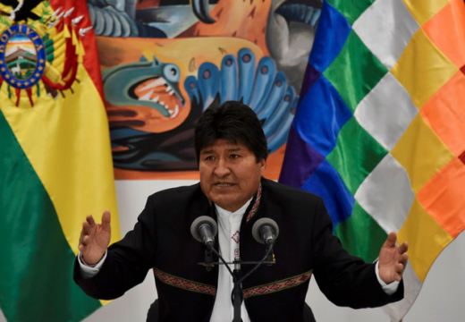 Evo Morales resigns from the presidency of Bolivia
