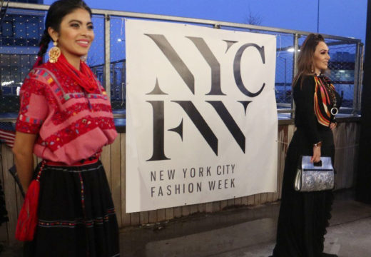 Chiapas designs on the runway at New York Fashion Week