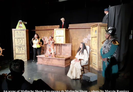 "Nahual Theater presents ""Malinche Show"""